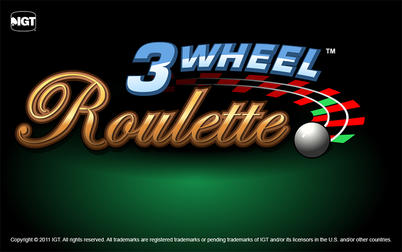 Play Three Wheel Roulette - Table & Card Games - IGT games