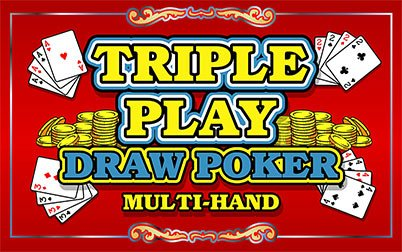 Play Triple Play Draw Poker - Video Poker - IGT games