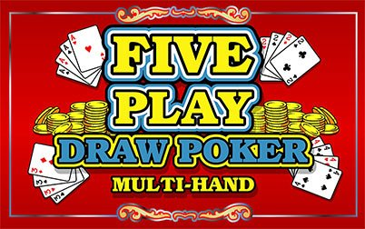 Play Five Play Draw Poker - Video Poker - IGT games