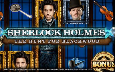 Play Sherlock Holmes: Hunt for Blackwood - Slots - IGT games