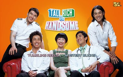 Play Tall, Rich & Handsome - Slots - High 5 Games