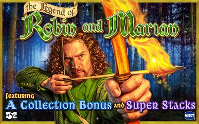 Play The Legend of Robin and Mariam - Slots - High 5 Games