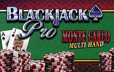 Play BlackjackPro MonteCarlo Multihand - Blackjack - NYX games