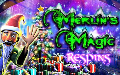 Play Merlin's Magic Respins Christmas - Slots - NYX games