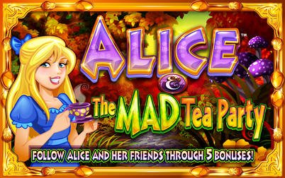Play Alice and the Mad Tea Party - Slots - WMS games