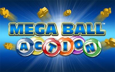 Play Mega Ball Action - Video Bingo - Spin games