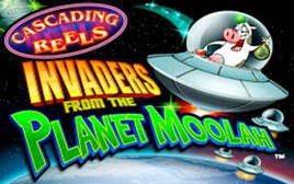 Play Invaders from Planet Moolah - Slots - WMS games