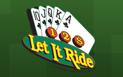 Play Let It Ride - Table & Card Games - ShuffleMaster games