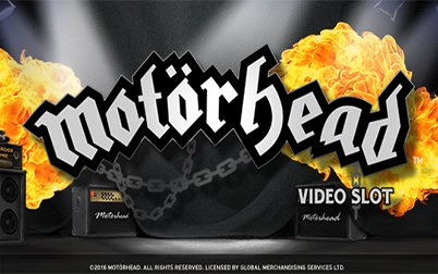 Play Motörhead Touch - Slots - NetEnt games