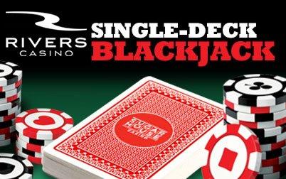 Single deck blackjack casinos