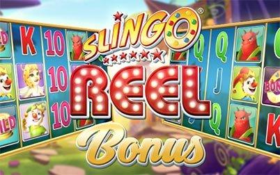 Play Slingo Reel Bonus - Slots - Slingo games