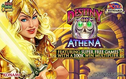 Play Destiny of Athena™ - Slots - Konami games