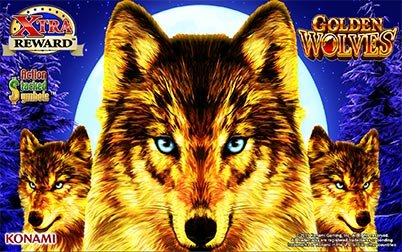 Play Golden Wolves - Slots - Konami games