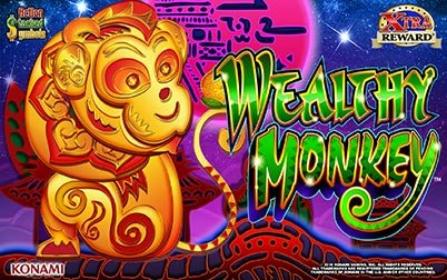 Play Wealthy Monkey™ - Slots - Konami games