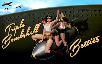 Play Triple Bomb Shell Betties - Slots - Spin games