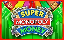 Play Super Monopoly Money - Slots - WMS games