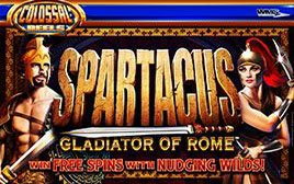 Play Spartacus - Slots - WMS games