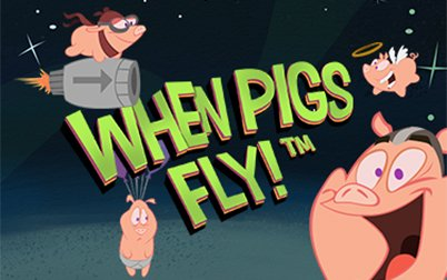 Play When Pigs Fly! - Slots - NetEnt games